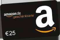 25 € Amazon Gutschein