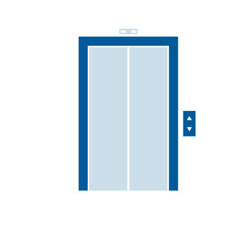 Ja, Aufzug vorhanden